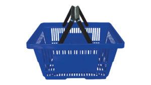 Luxury Two-Handle Shopping Basket
