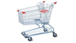 Supermarket Trolley 120L