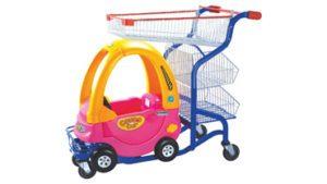 Children Toy Trolley Pink