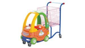 Children Toy Trolley Orange