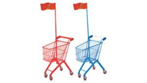 Children Toy Trolley Red and Blue