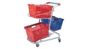 Three Basket Trolley