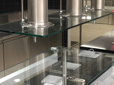 Quartz, Glass, and Stainless Steel by Diamond Group