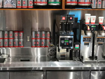 Commercial Coffee Counter by Diamond Group