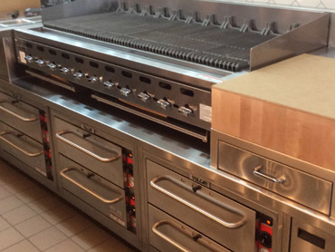 Commercial Grill Station by Diamond Group