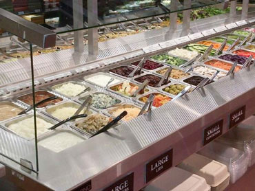 Commercial Salad Bar Buffet by Diamond Group