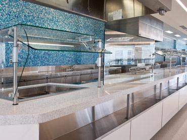 Corporate Food Servery Line-up by Diamond Group