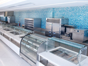 Corporate Food Servery Line by Diamond Group