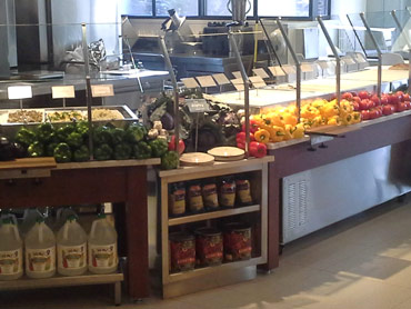 Custom Fresh Produce Display by Diamond Group