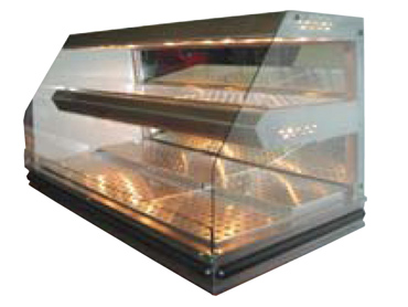 Food Warmer Case Display by Diamond Group