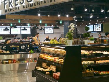 Fresh food market by Diamond Group