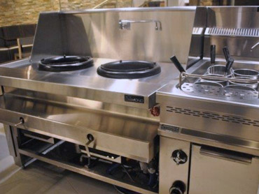 Gaz Powered Wok Range by Diamond Group