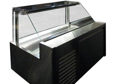 Glass Refrigerated Food Display by Diamond Group