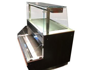 Hot & Cold Pizza Display Case by Diamond Group
