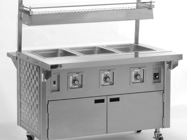 Hot Food Utility Counter by Diamond Group