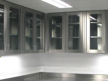 Laboratory Stainless Cabinets by Diamond Group