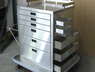 Medical Anethesia Cart by Diamond Group