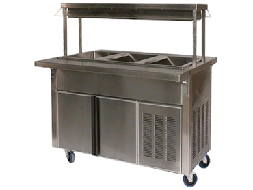 Mobile Refrigerated Cold Pan Buffet by Diamond Group