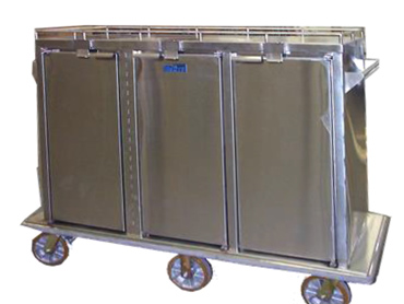 Mobile Warming Cart Unit by Diamond Group
