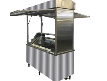 Refrigerated Ice Cream Cart by Diamond Group