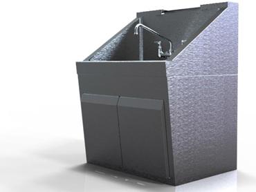 Scrub sink by Diamond Group