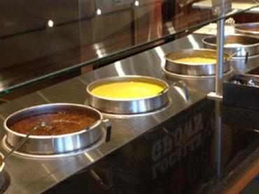 Self-Serve Soup Counter by Diamond Group