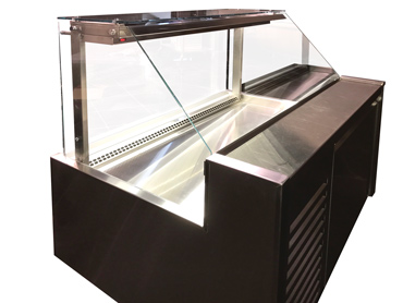 Standard Glass Refrigerated Display Case by Diamond Group