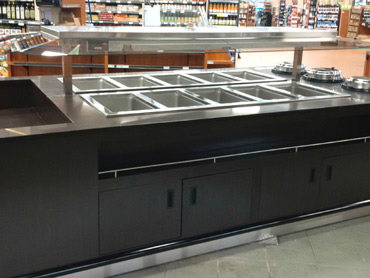 Supermarket Hot Buffet Servery by Diamond Group