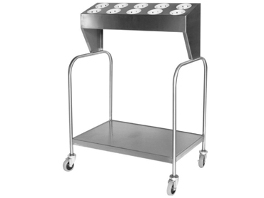 Tray and Silverware Cart by Diamond Group